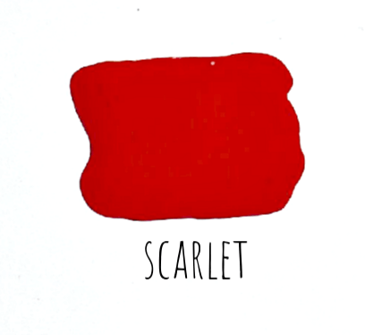 Scarlet Milk Paint