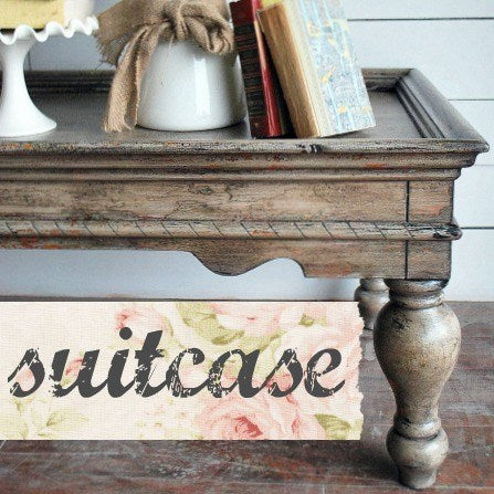Suitcase Milk Paint