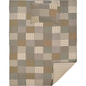 Sawyer Mill Charcoal Quilt Set