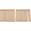 Burlap Vintage Tier Set of 2