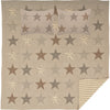 Sawyer Mill Star Charcoal Quilt Set