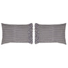Elysee Standard Pillow Case Set of 2 - 21x30