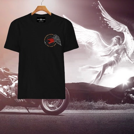 Story Behind The Design: Never Ride Faster Than Your Angel