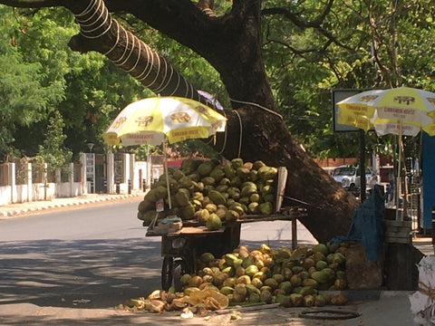 Coconut vendor lockdown life