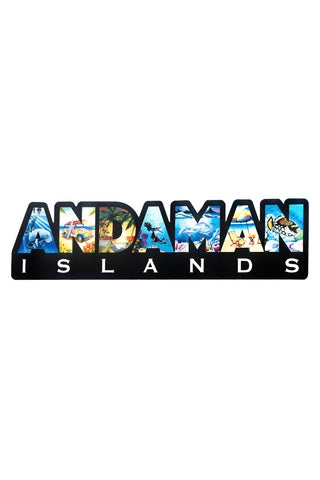 Andaman Islands Fridge Magnet AN01 - ChrisCross.in