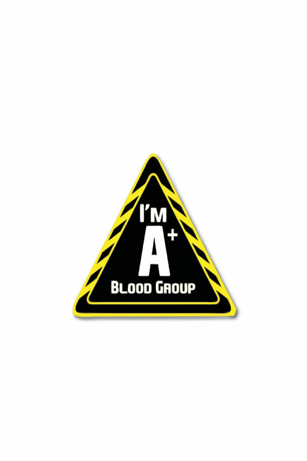 Blood Group Sticker: A+ - ChrisCross.in