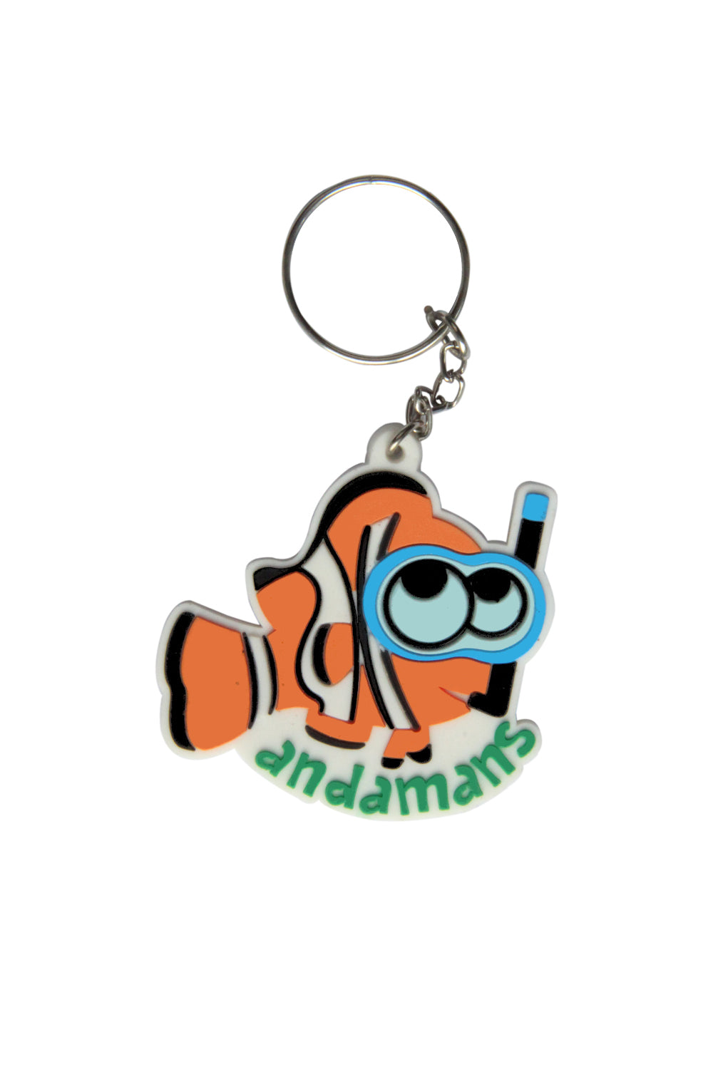 Andaman Clown Fish Keychain - ChrisCross.in
