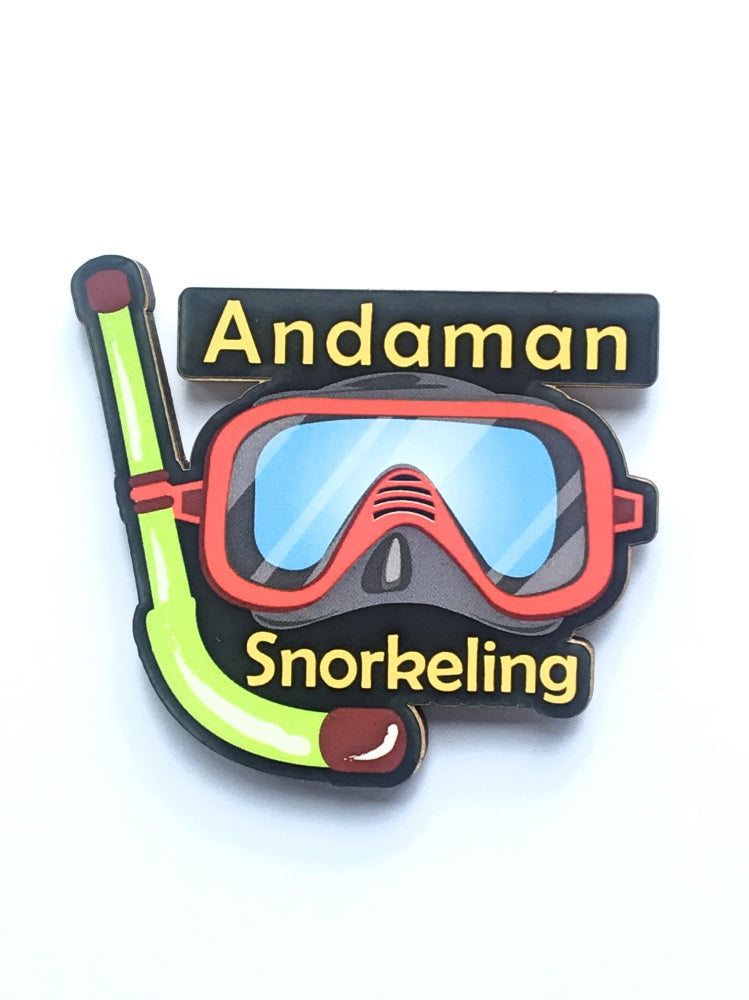 Andaman Island Snorkelling Fridge Magnet - ChrisCross.in