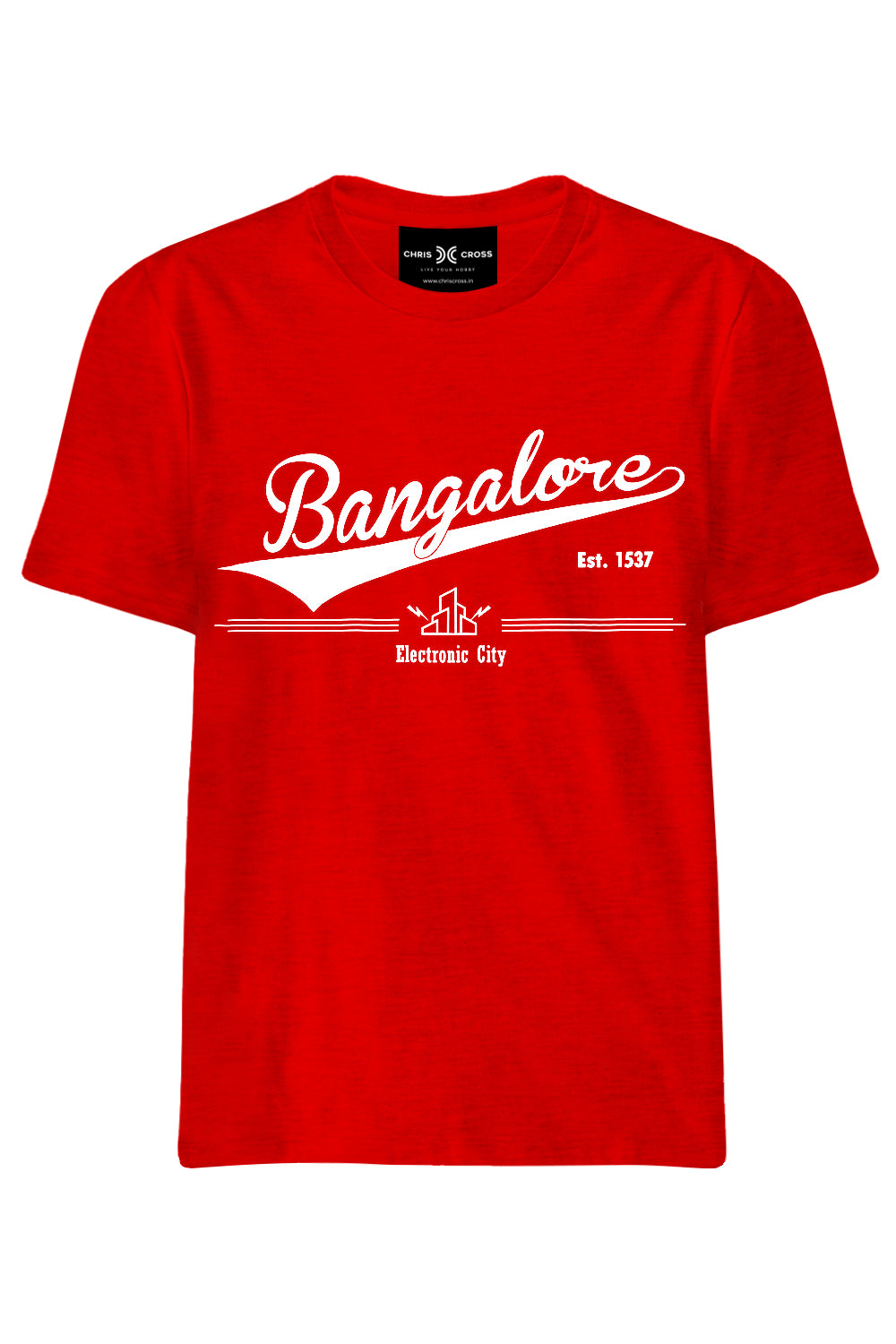 Bangalore Souvenir T-Shirt - ChrisCross.in