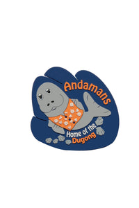 Andaman Dugong Fridge Magnet - ChrisCross.in