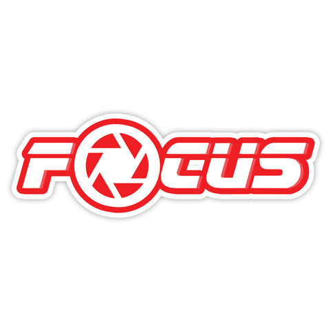 Focus Sticker - ChrisCross.in