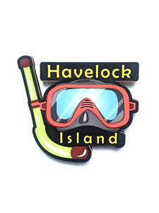 Havelock Island Snorkelling Fridge Magnet - ChrisCross.in