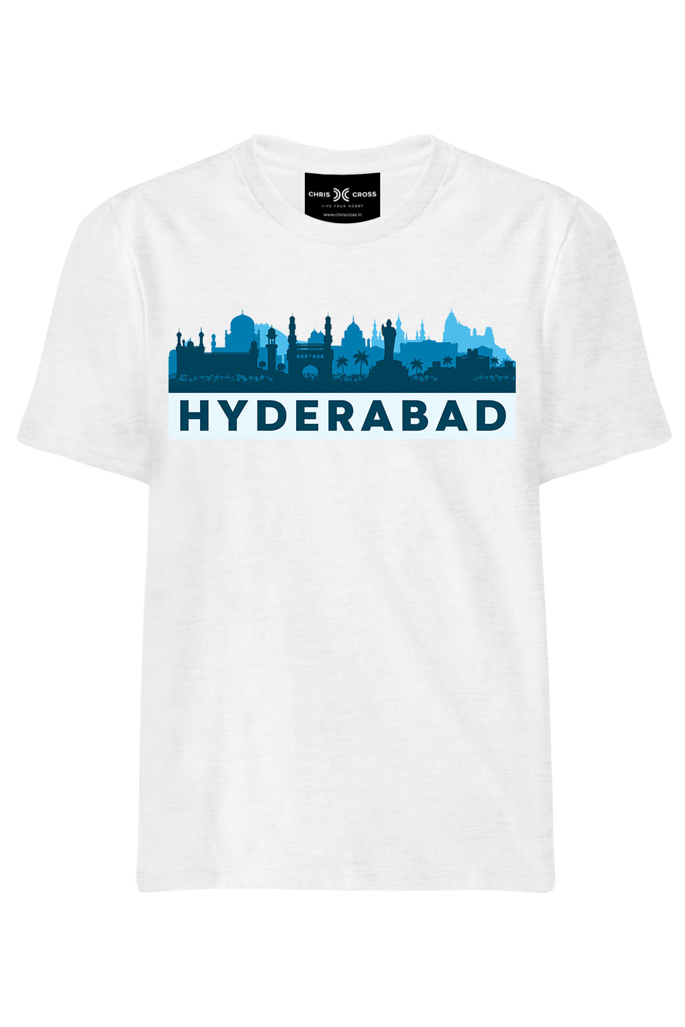 Hyderabad Souvenir T Shirt - ChrisCross.in