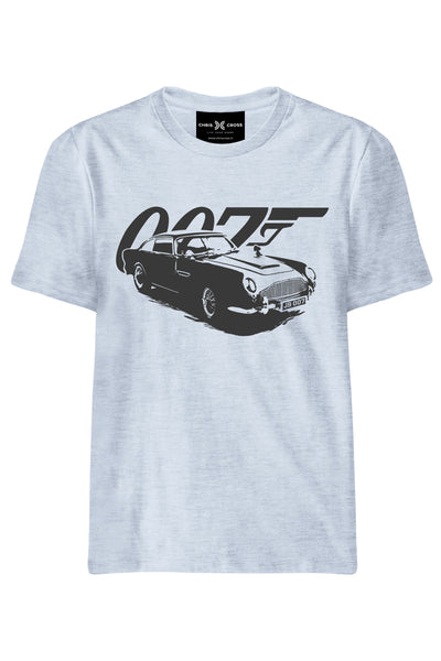 James Bond DB5 007 T Shirt - ChrisCross.in