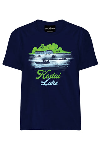 Kodai Lake Souvenir T Shirt - ChrisCross.in