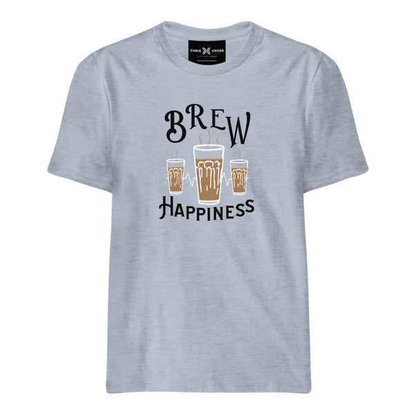 Brew Happiness T Shirt - ChrisCross.in