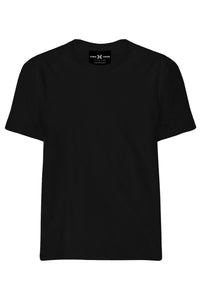Plain Black T-Shirt - ChrisCross.in