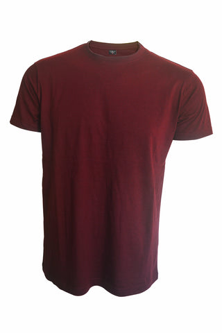 Plain Maroon T-Shirt - ChrisCross.in