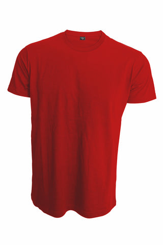 Chris Cross Plain Red Men's T-Shirt
