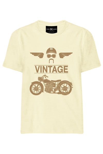 Vintage Biker T-Shirt - ChrisCross.in