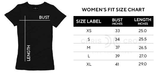 Plain White T-Shirt (Women's Fit) - ChrisCross.in