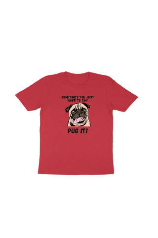 Pug it Dog (Kids) T Shirt - ChrisCross.in