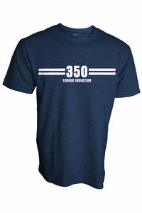 RD 350 Torque Induction Biker's T-Shirt (Blue Melange) - ChrisCross.in