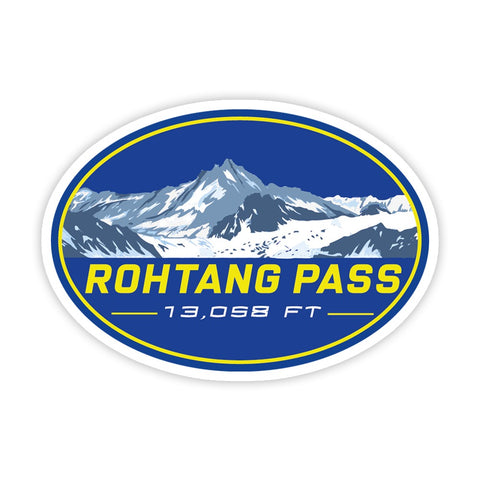 Rohtang Pass Sticker - ChrisCross.in