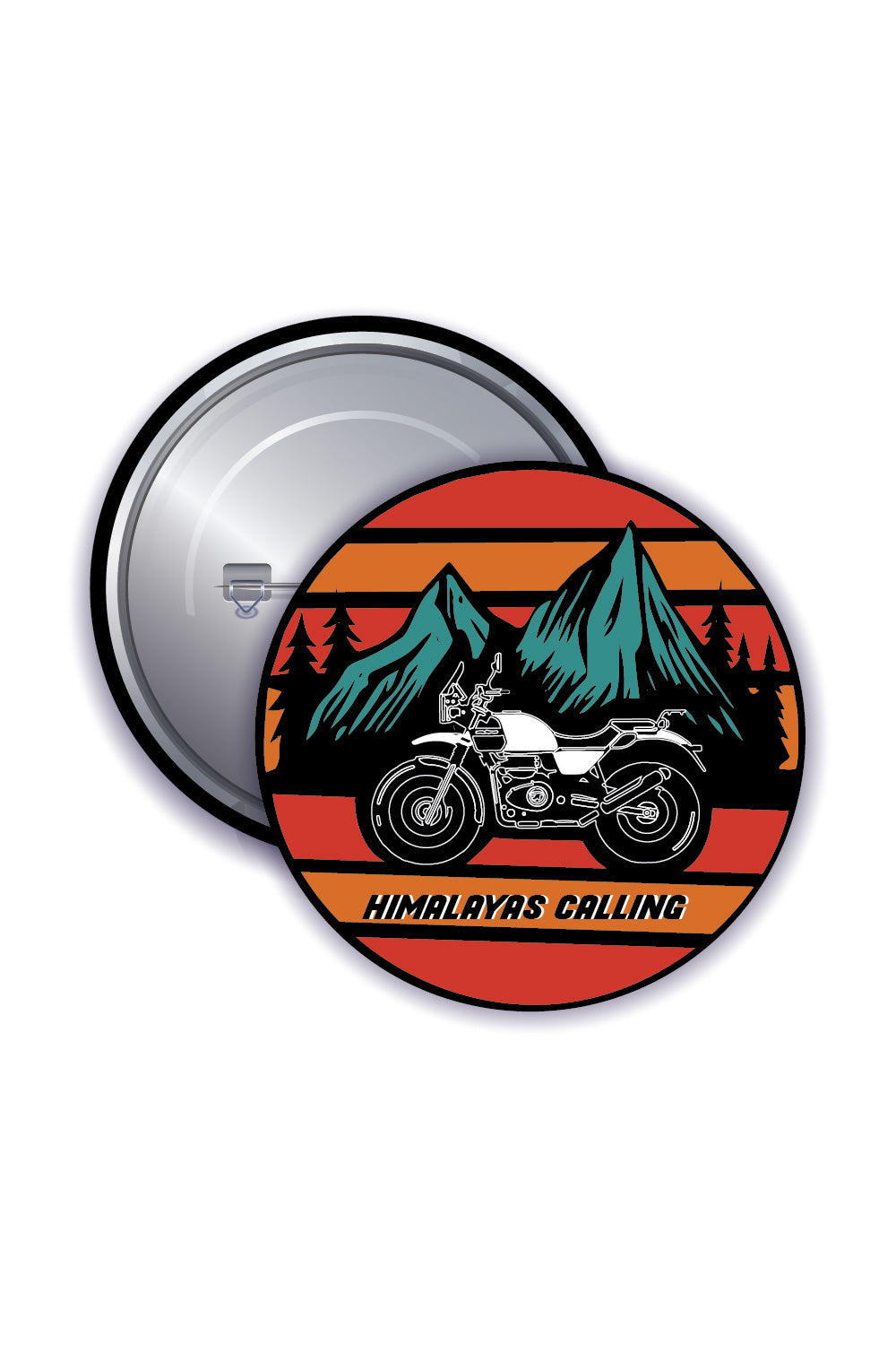 Button Badges - Himalayas Calling - ChrisCross.in