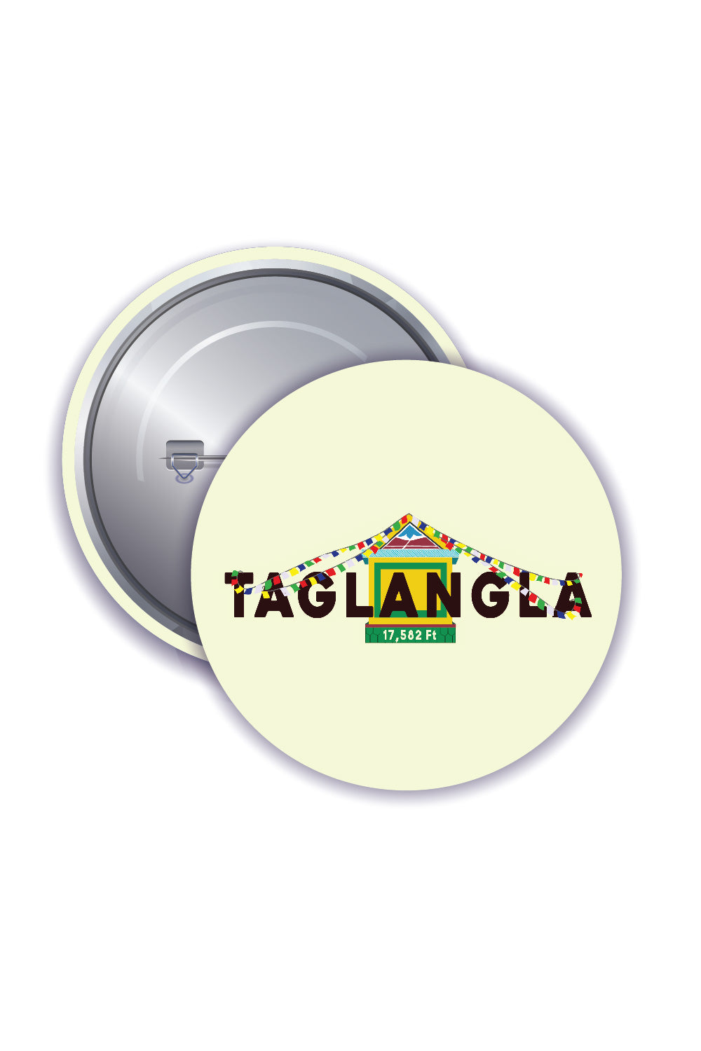 Button Badges - Tanglang La Pass - ChrisCross.in