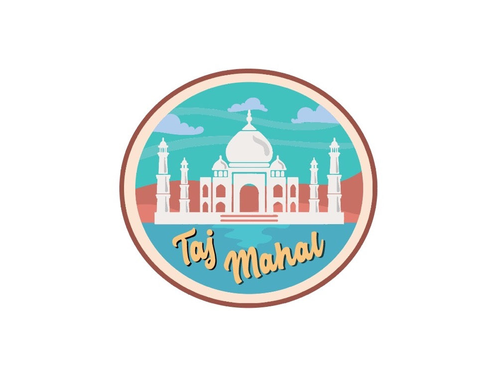 Taj Mahal Fridge Magnet - ChrisCross.in