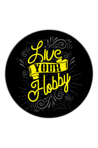 Live Your Hobby Sticker - ChrisCross.in