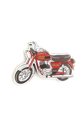 Yezdi Oilking (Road King) Motorcycle Fridge Magnet - ChrisCross.in