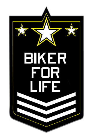 Biker 4 Life Sticker - ChrisCross.in