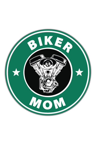Biker Mom Sticker - ChrisCross.in