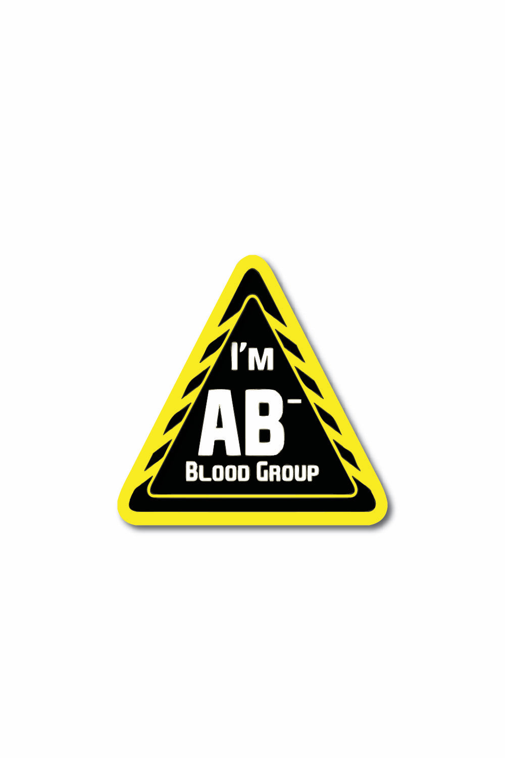 Blood Group Sticker: AB- - ChrisCross.in