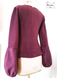 pull maria polaire prune