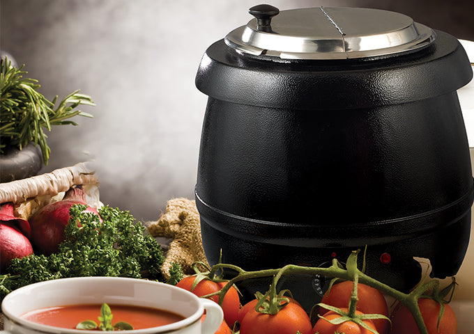 Electric Deluxe Soup Warmer Set