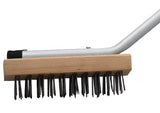 31″ Commercial Broiler Brush with Steel Wire Bristles
