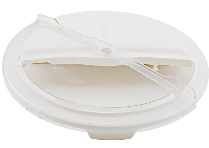 Rotating Lid for White Container