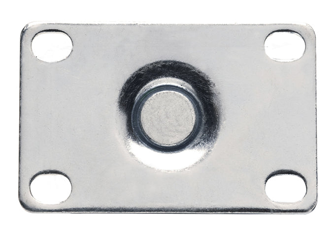 Universal Plate Caster Set, 2-3/8″ x 3-5/8″ Plate, 5″ Wheels