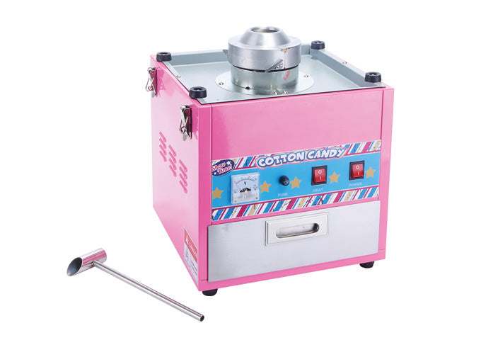 Show Time Cotton Candy Machine, 20.5″ Stainless Steel Bowl, 1080W