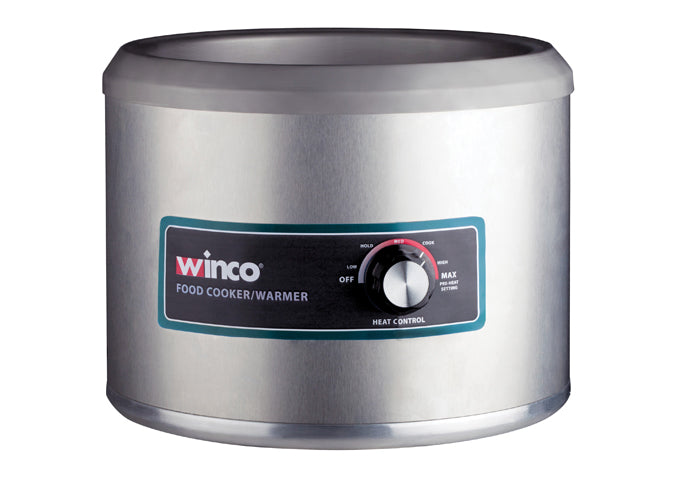 Electric 11 Quart Round Food Cooker/Warmer, 1250W