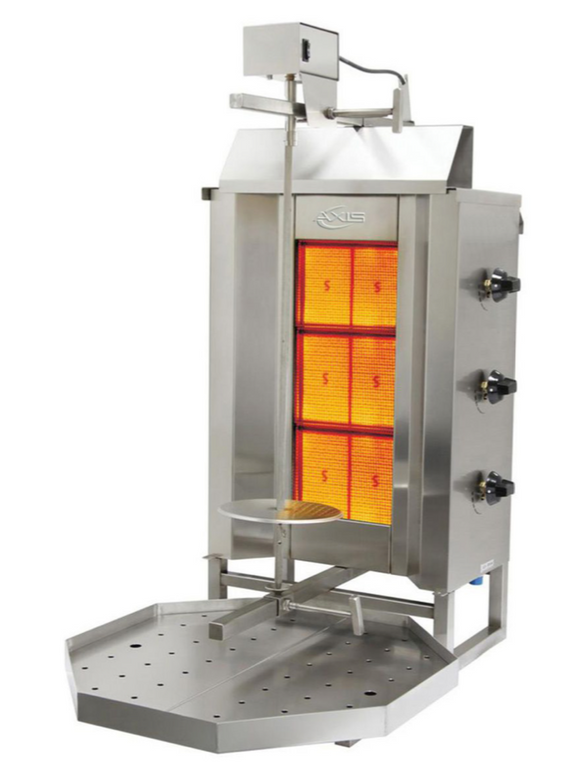 Vertical Broiler (GYRO) Gas