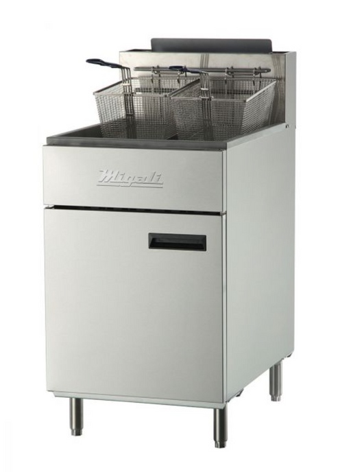 75 lb Natural Gas Fryer - 170,000 BTU