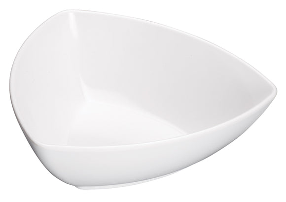 Elista Melamine Triangular Bowl