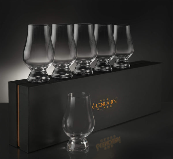 Glencairn Whiskey Glass Set of 6 in Deluxe Velvet Gift Box