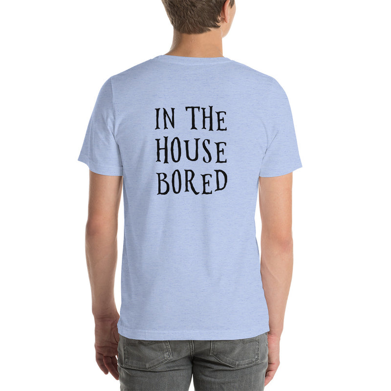 Bored in the House | Mens T-Shirt (Red Wine)