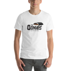 The Oonies T-Shirt - Never Say Pie | Dark Logo