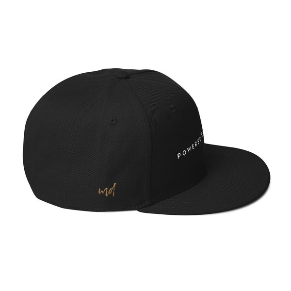 The Powered by Scotch Snapback Hat